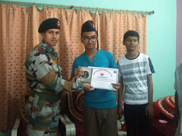 HSLC topper felicitated
