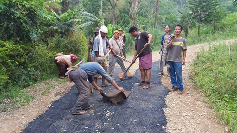 Villagers launch 'road banao' programme in Dima Hasao