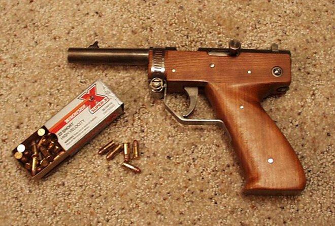 One apprehended, handmade pistol recovered