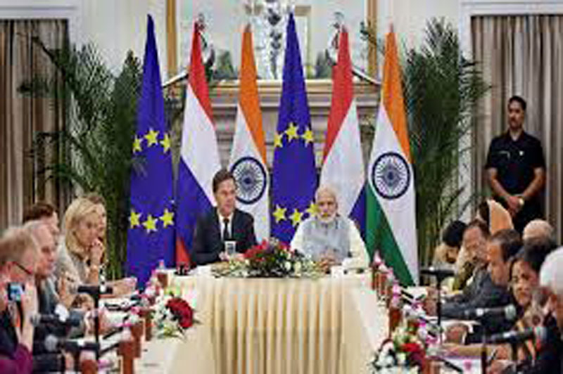 India, Netherlands agree to cooperate