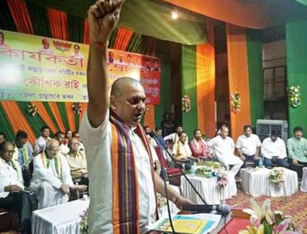 Kaushik Rai takes charge as district BJP president