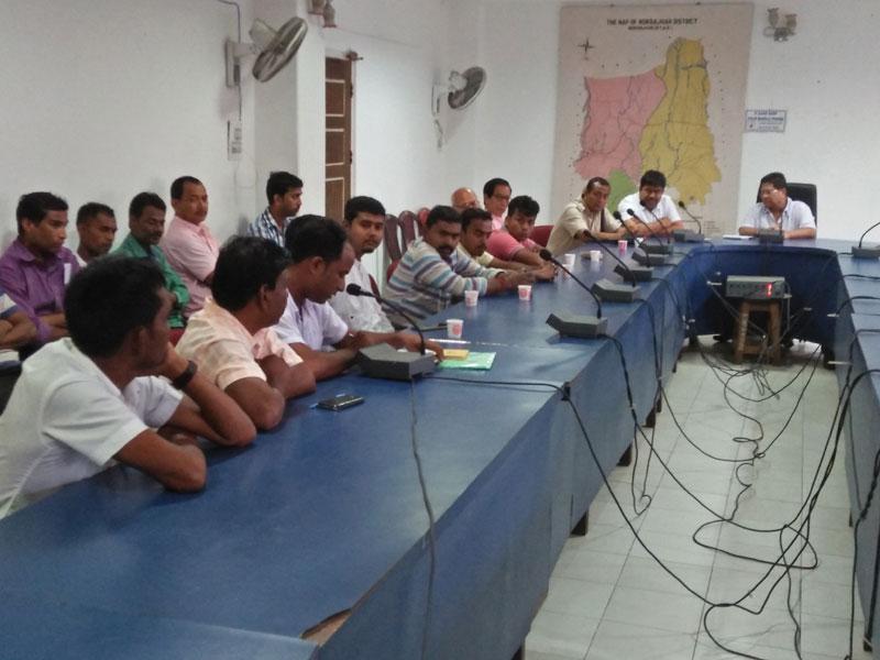 Meeting on final NRC draft held