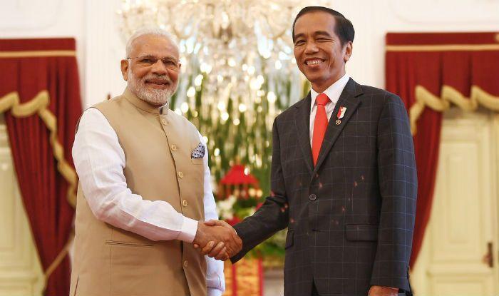 Delegation-level talks between Modi & Widodo underway