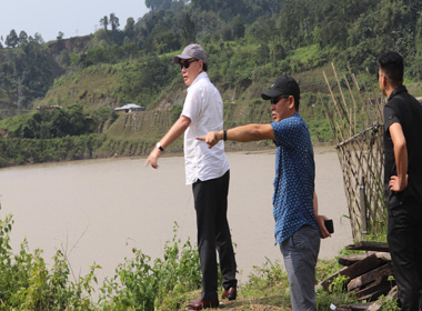 Prayer centre threatened by Pare dam