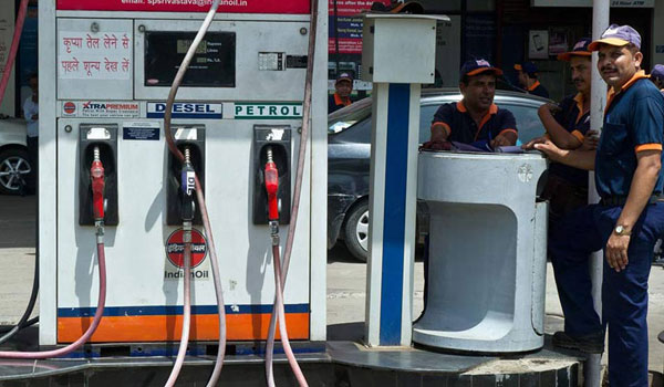 Petrol, diesel prices down 1 paise after 16-day continuous surge