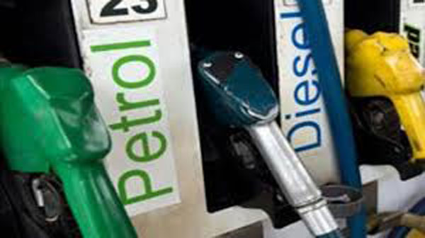 Petrol down by 7 paise, diesel by 5 on Thursday
