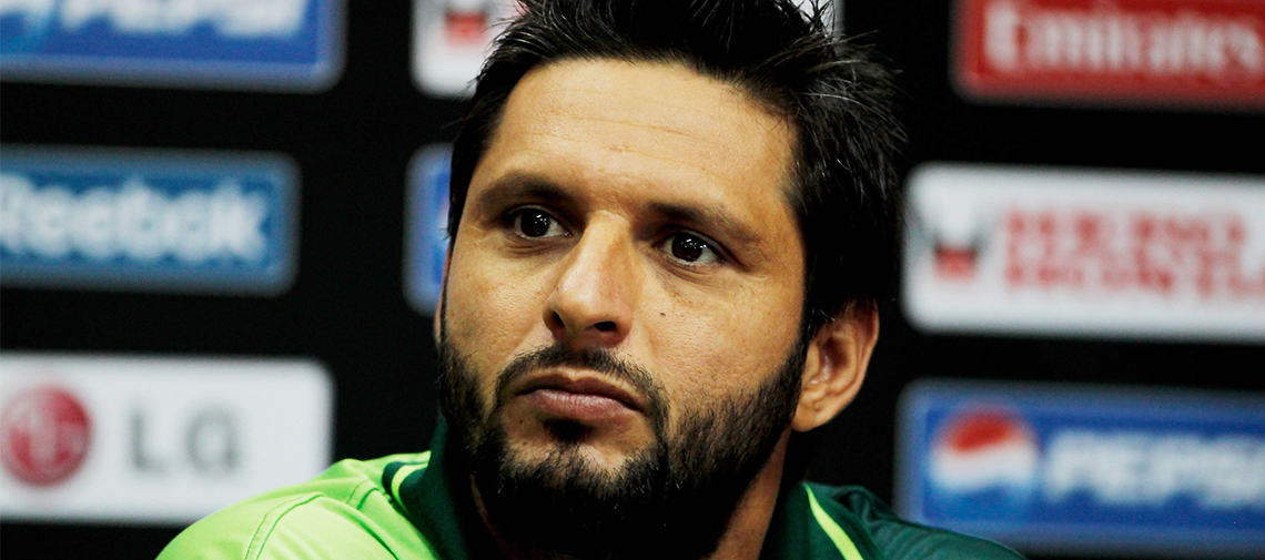 Afridi in Place of Eoin