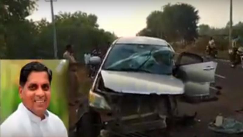 Karnataka Congress MLA Nyamagouda passed away in a road accident