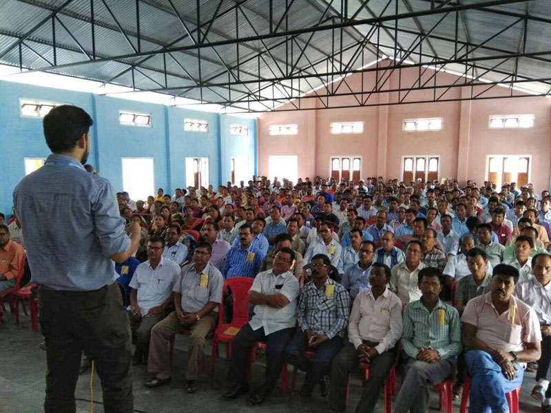 Training on Measles-Rubella vaccination campaign held at Orang