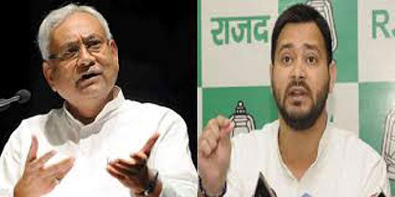 Tejashwi mocks Nitish