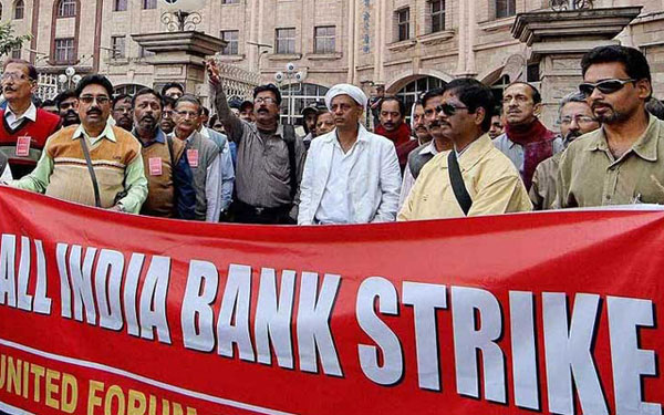 Unions blame IBA for impacting Rs 43 crore of transactions during strike