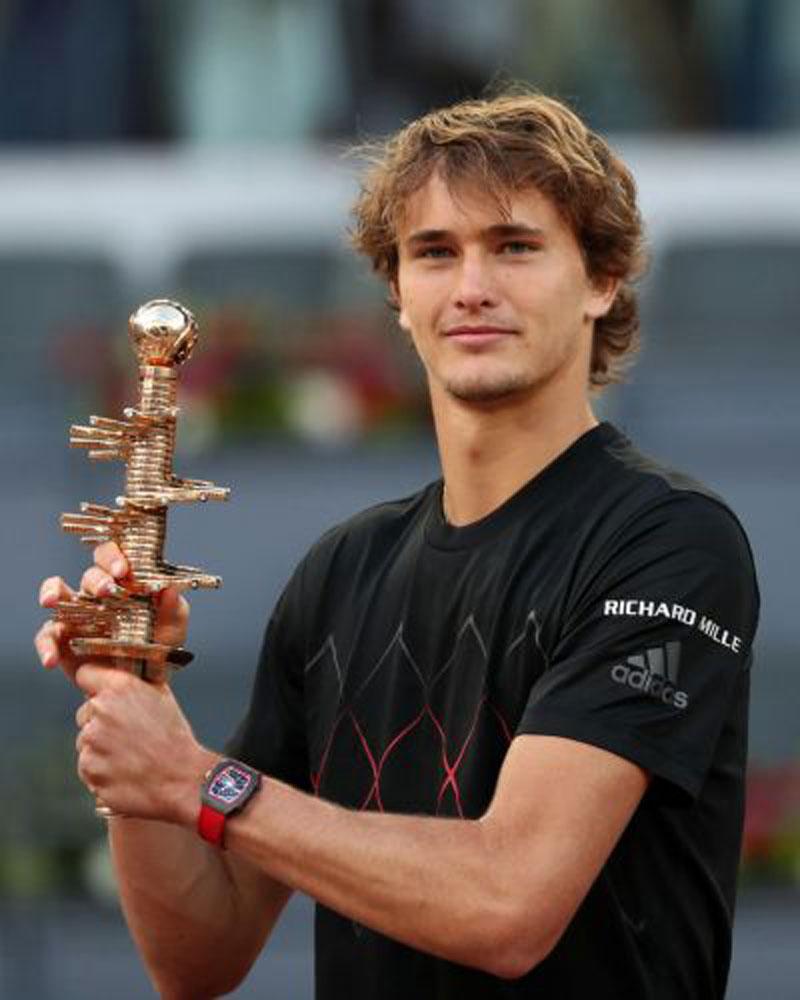 Zverev wins maiden Madrid Open title