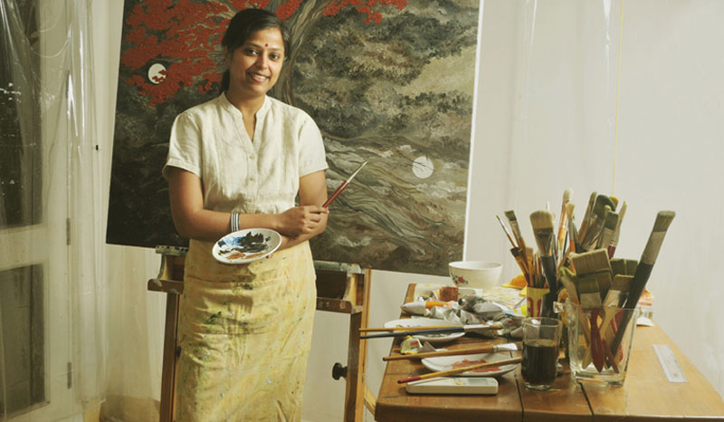 Farmers' widows inspire Kota Neelima's art