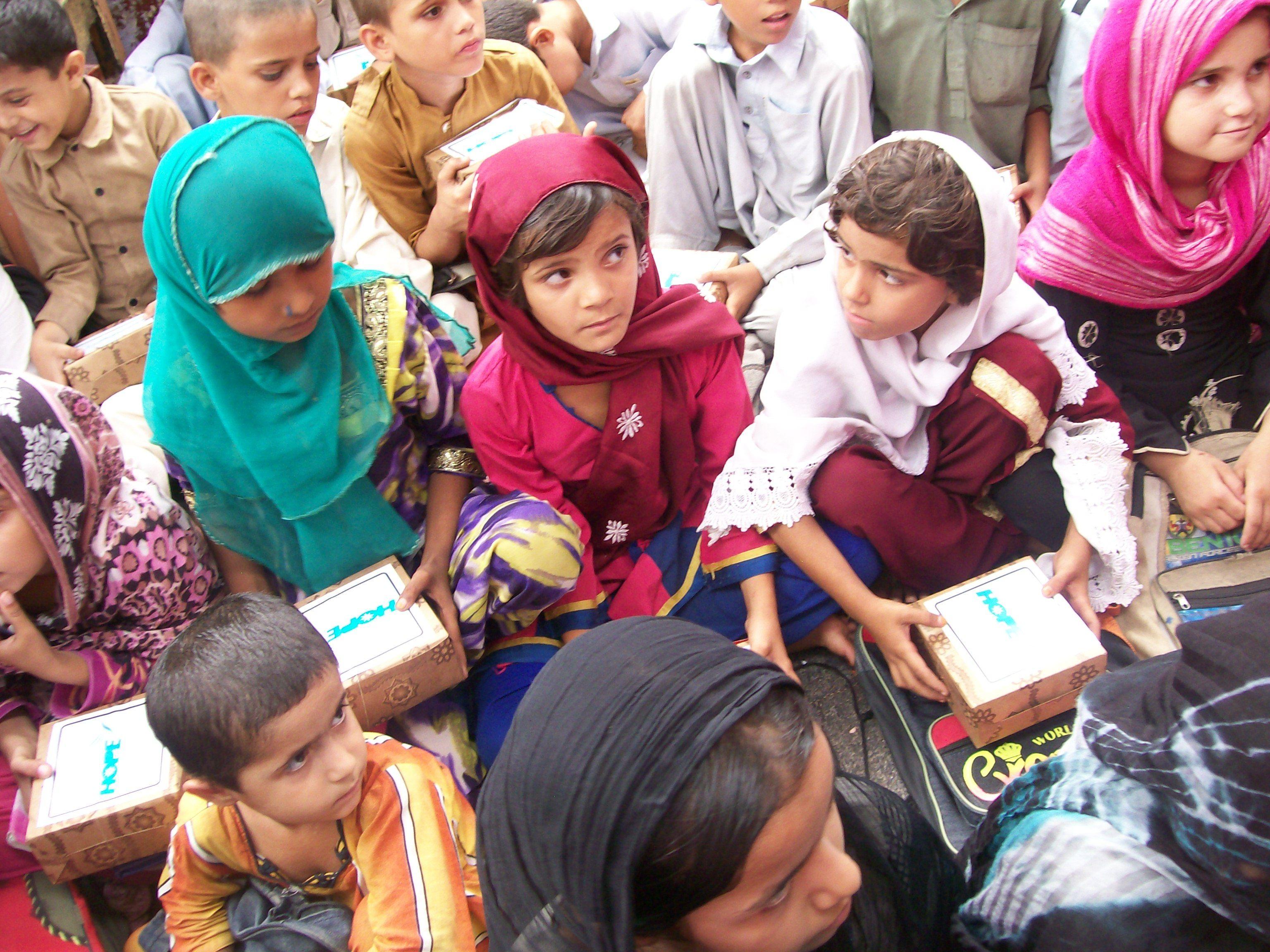 Iftaar items distributed