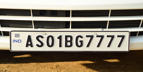 'Install high-security number plates'