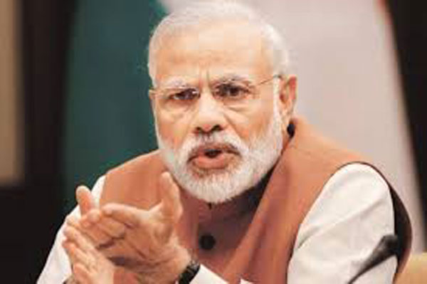 Shun violence, join mainstream India: Modi