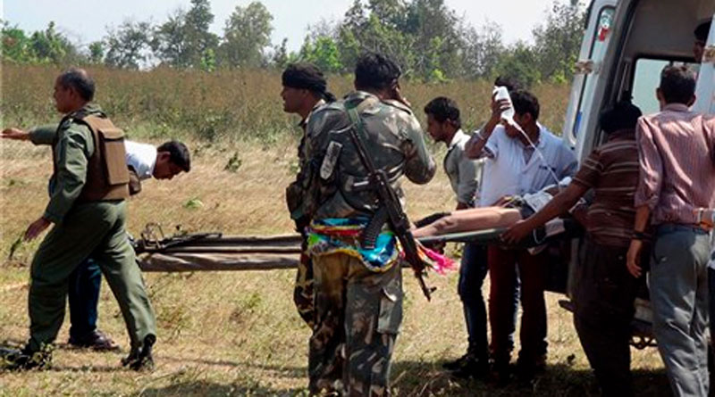 Maoist landmine kills six policemen in Chhattisgarh