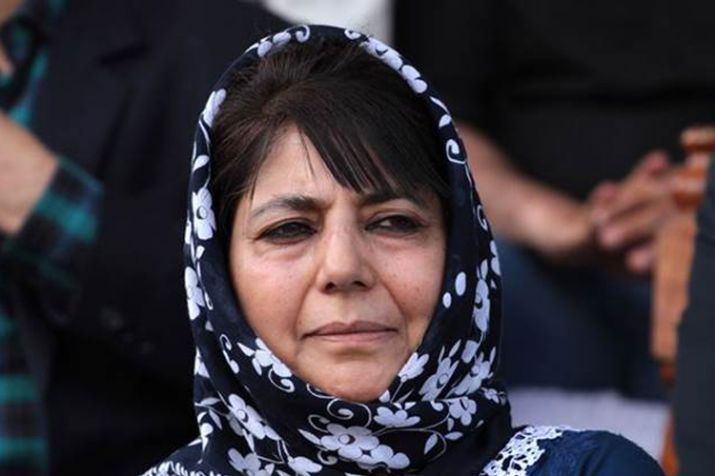 Mehbooba welcomes India, Pakistan commitment to border peace