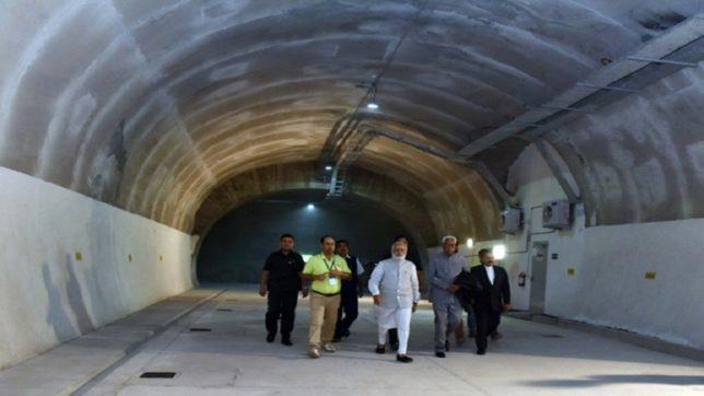 Modi lays foundation stone of Zojila Tunnel