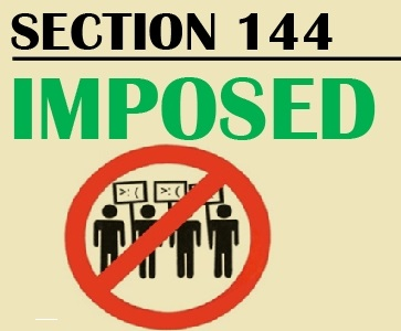 Section 144 Promulgated in Goalpara and Chirang Districts of Assam