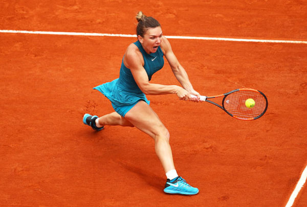 Halep wins challenging first round match at French Open