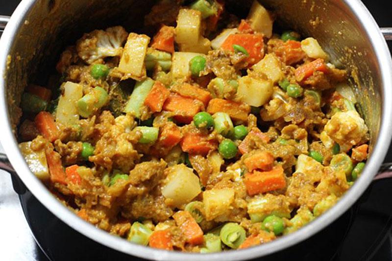 Vegetable Korma (Sabzi Korma)