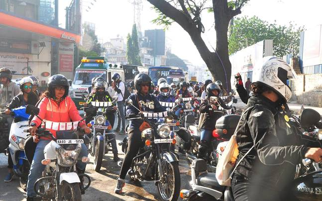 Motor bike rally to  create cancer awareness