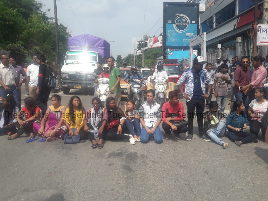 Angered LCB Students Protest Against Authorities