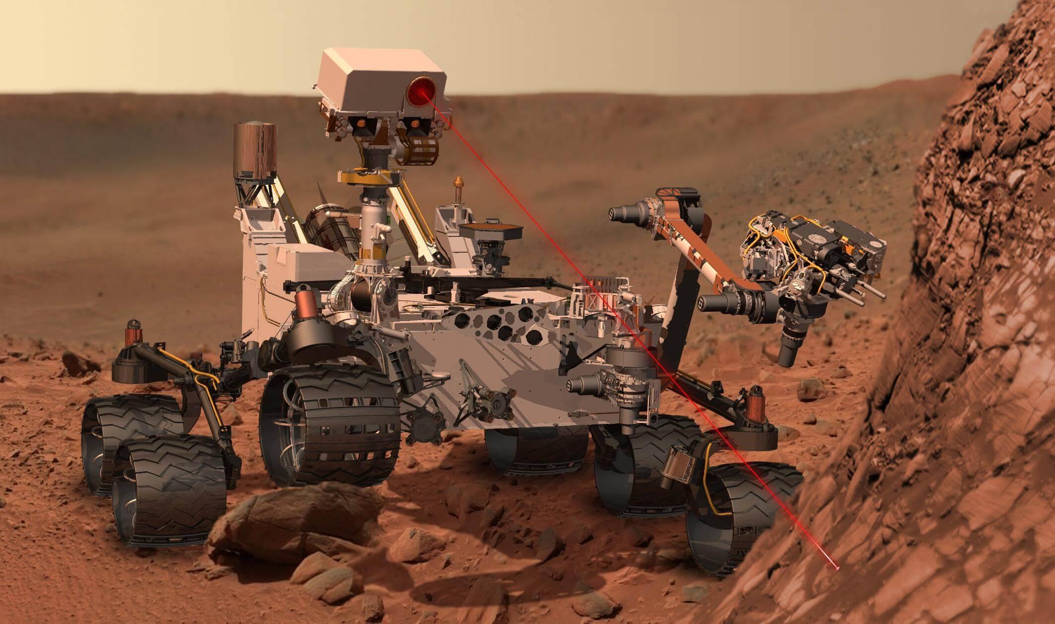 NASA Finds `Building Blocks of Life' on MARS