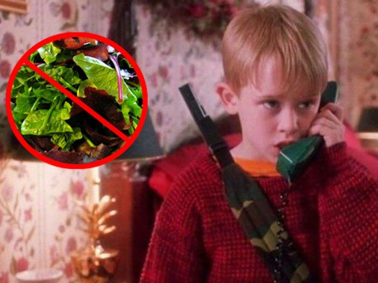Kid Reaches 911 Complaining against Salads!
