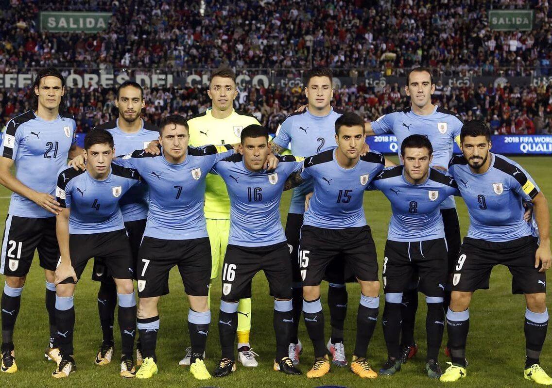 Uruguay down Uzbekistan