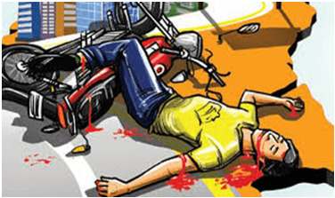 Two dead, four injured in separate road mishaps