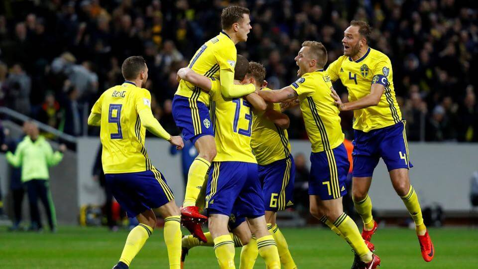 Sweden return to World Cup with great ambitions