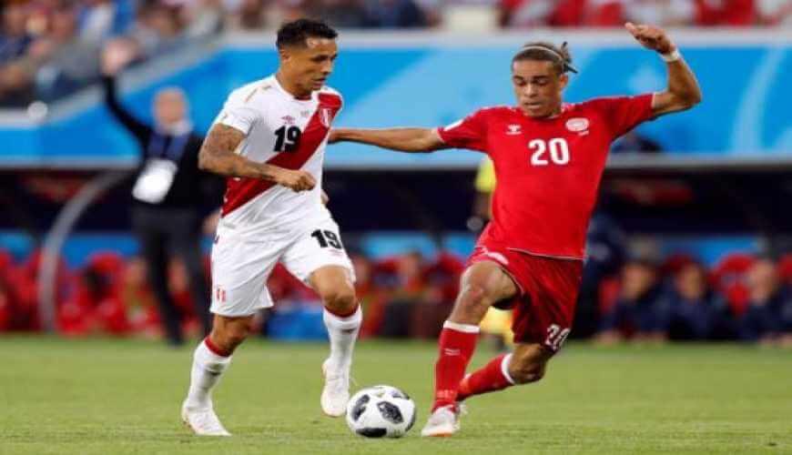 Denmark beat Peru in Group C tie