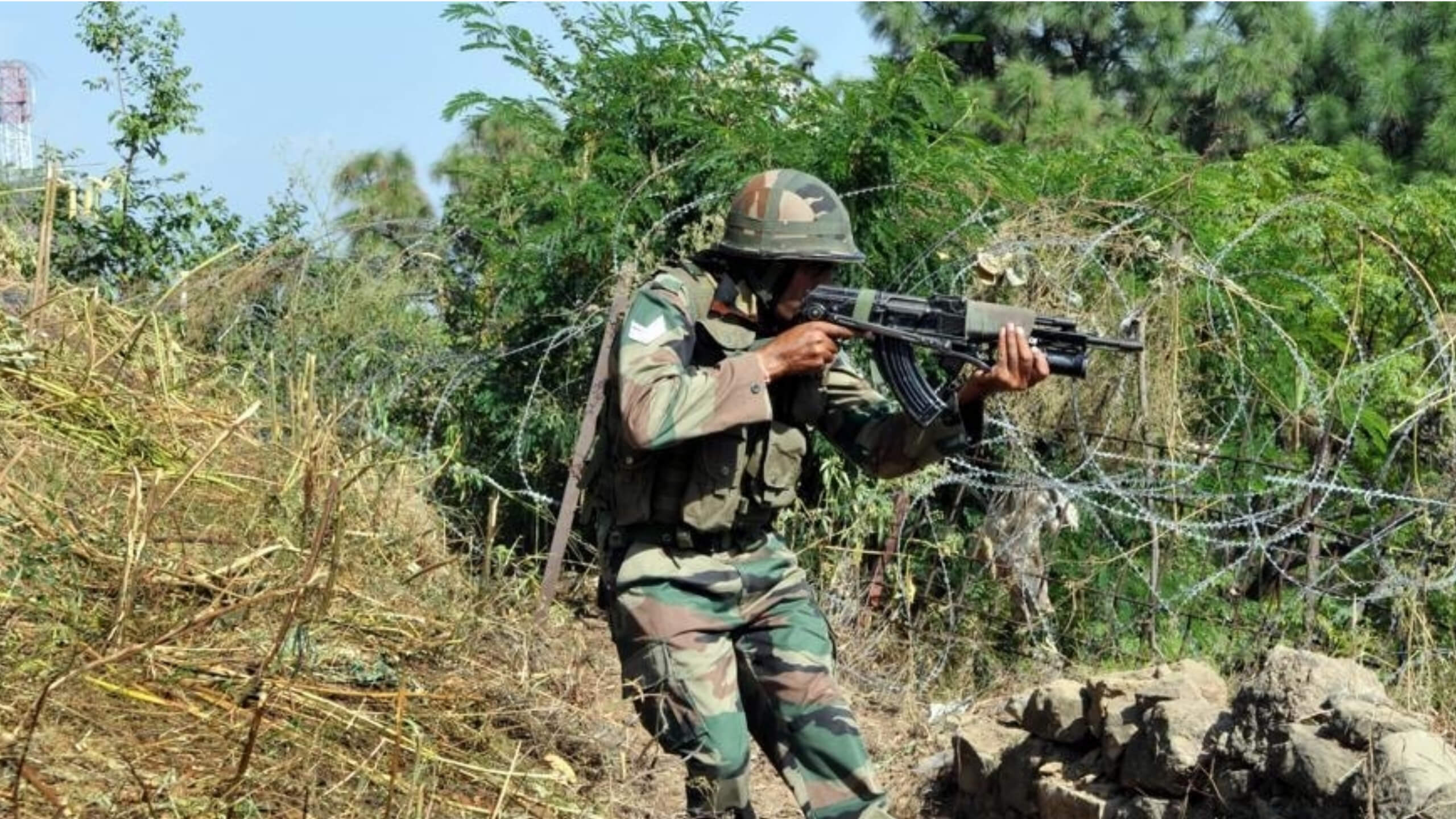Ceasefire Violation Repeated
