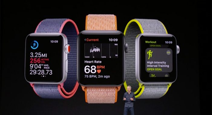 Apple grabs top spot in global wearables market