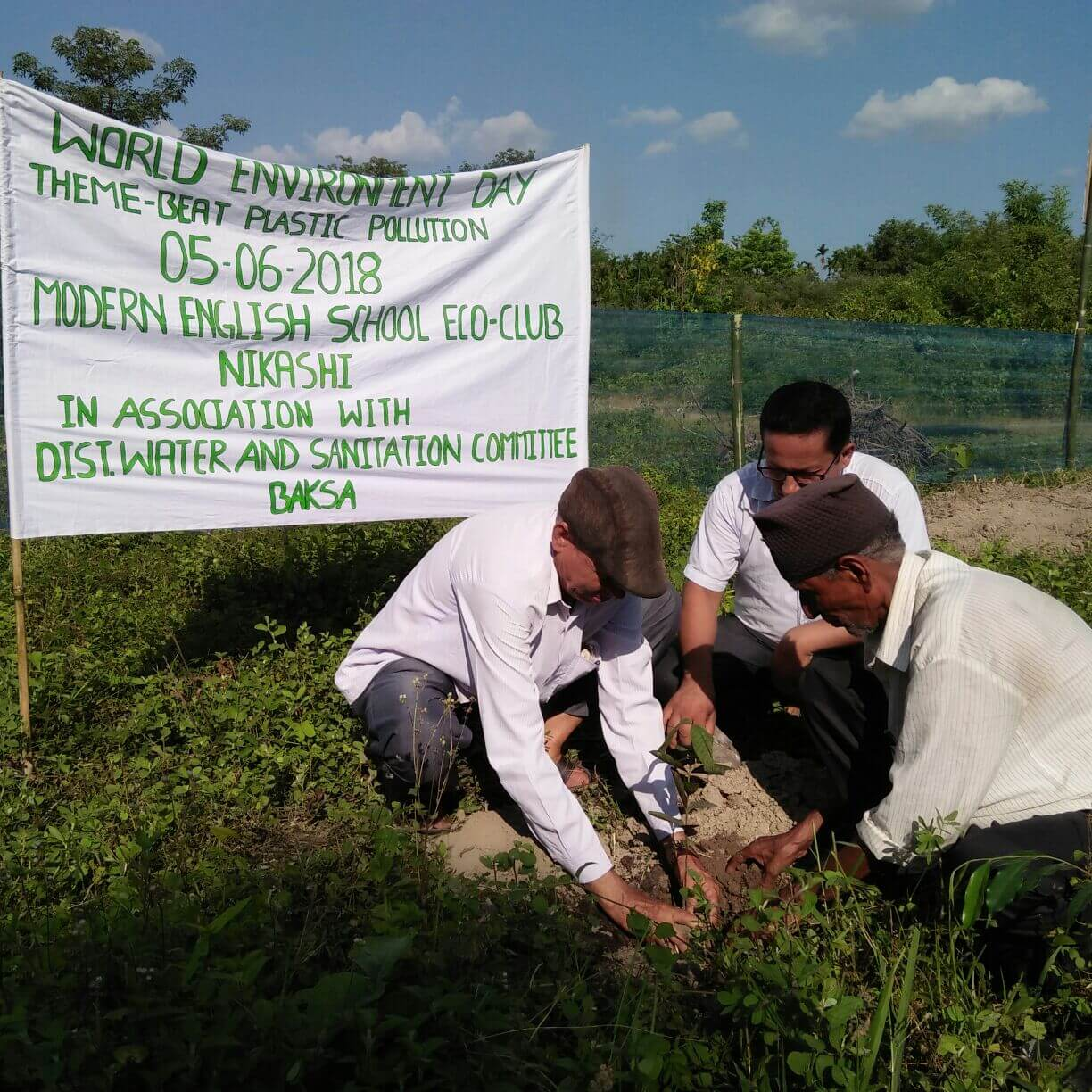Baksa School Eco Club starts indigenous fruit micro forest