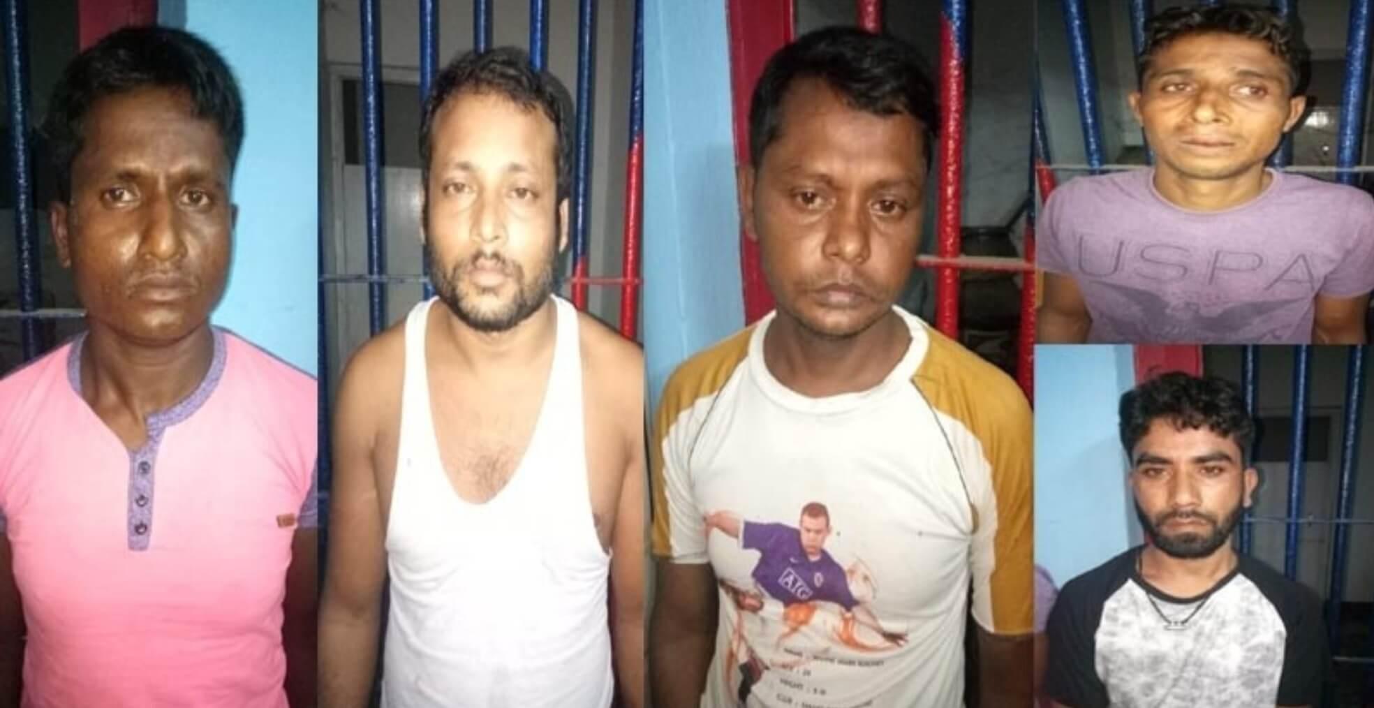 Golaghat Cops Foil Bank Heist, 5 Arrested