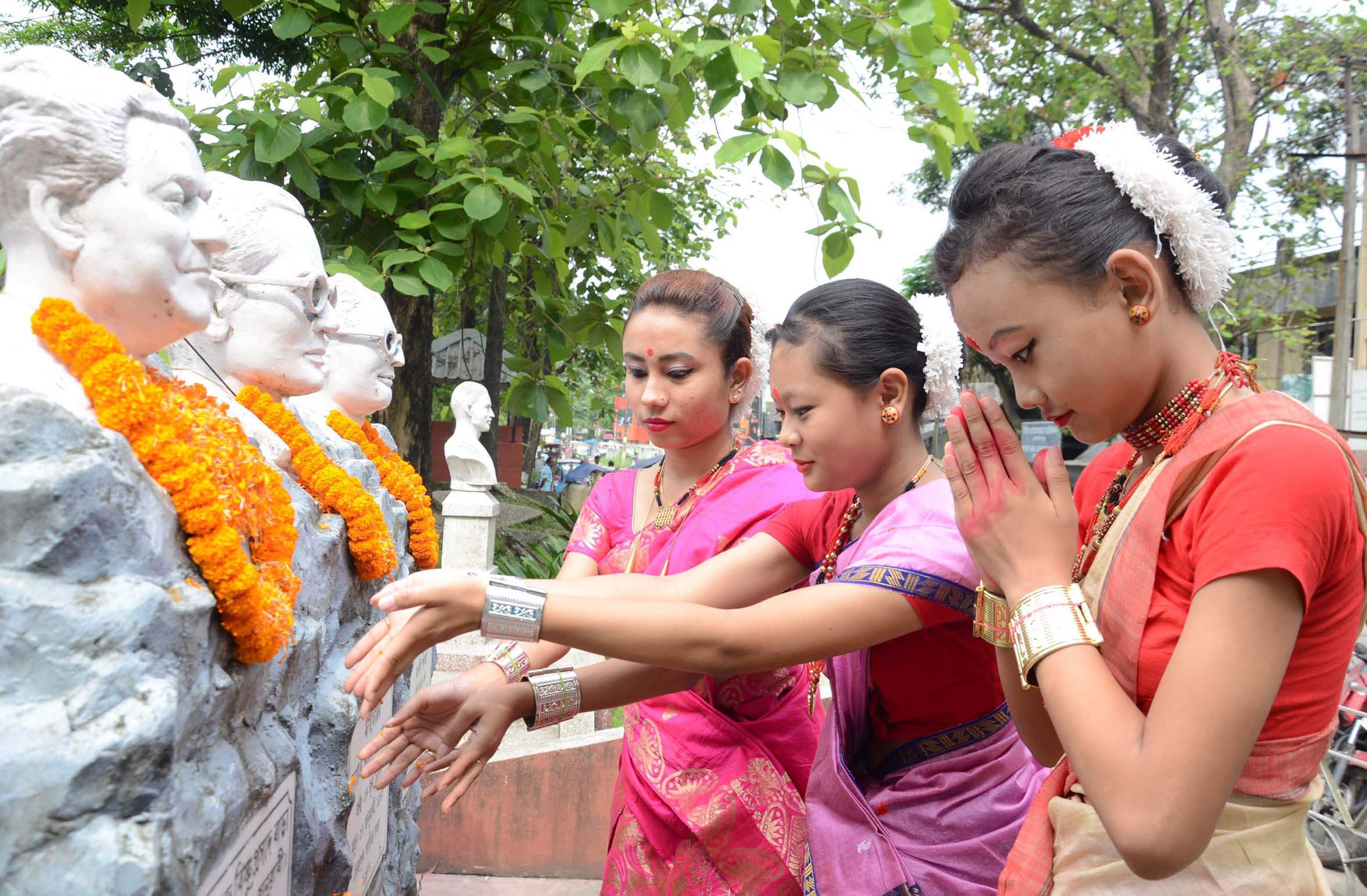 Bishnu Rabha Divas observed across State