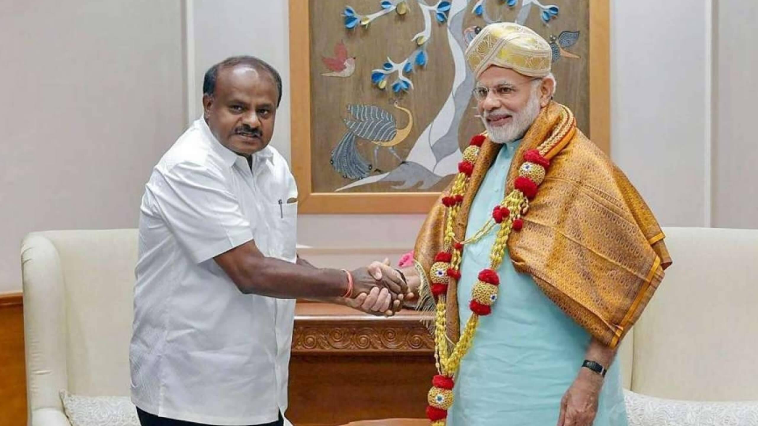 Modi's Fitness Challenge to Karnataka CM