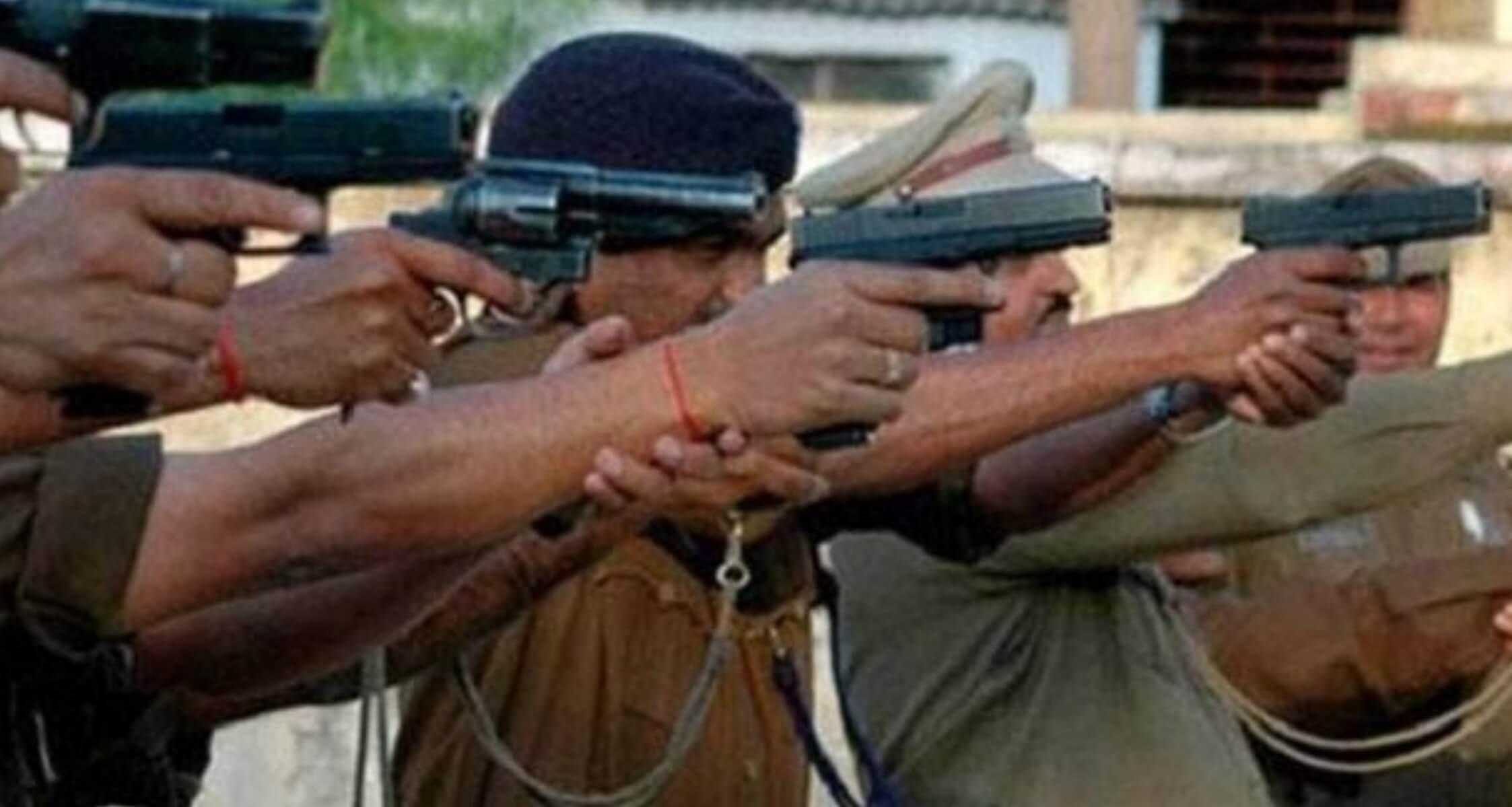 Delhi Police Guns Down Four Dreaded Criminals