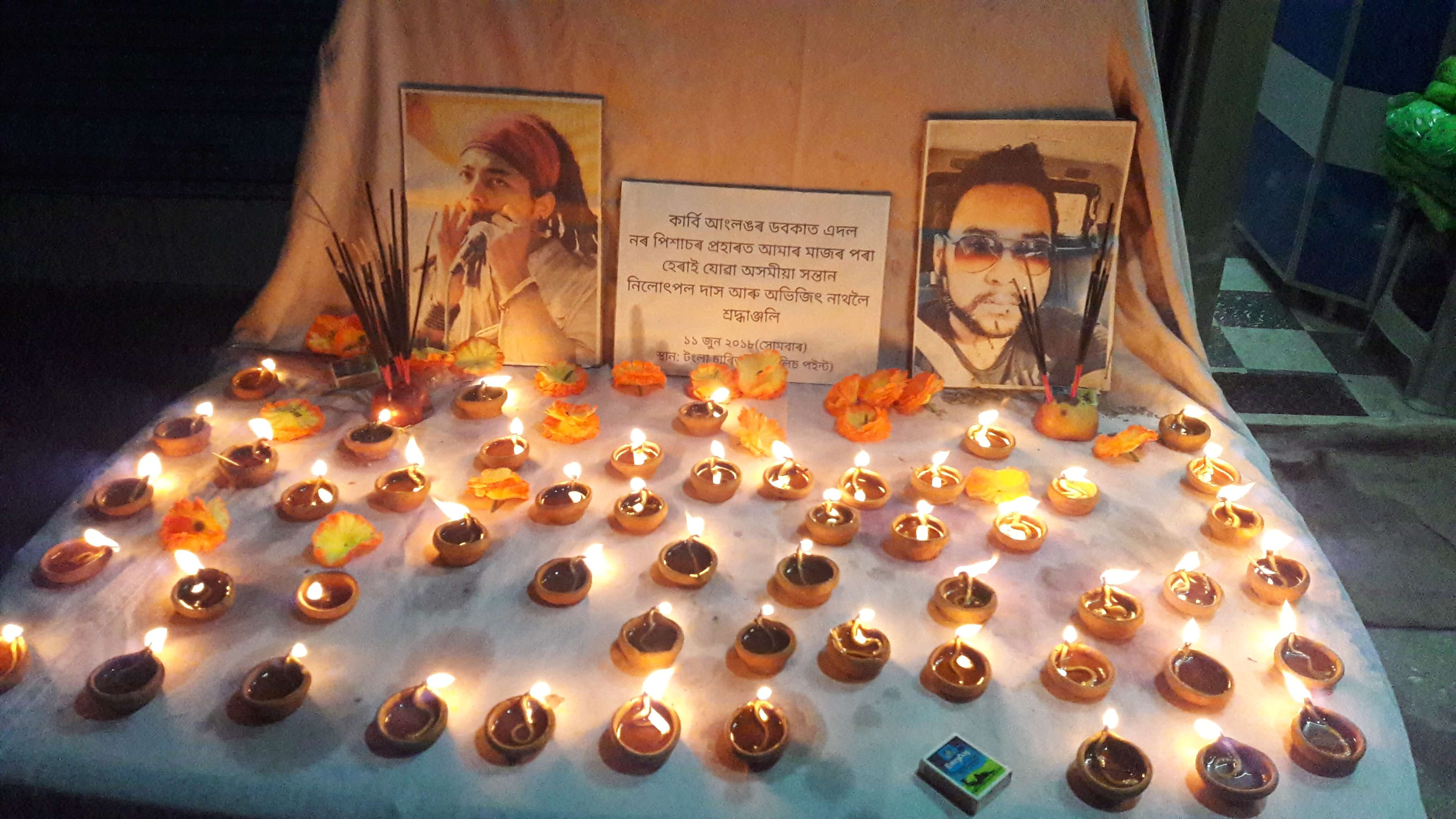 Candlelight protest against Dokmoka incident