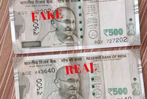 Alarming rise of counterfeit currency