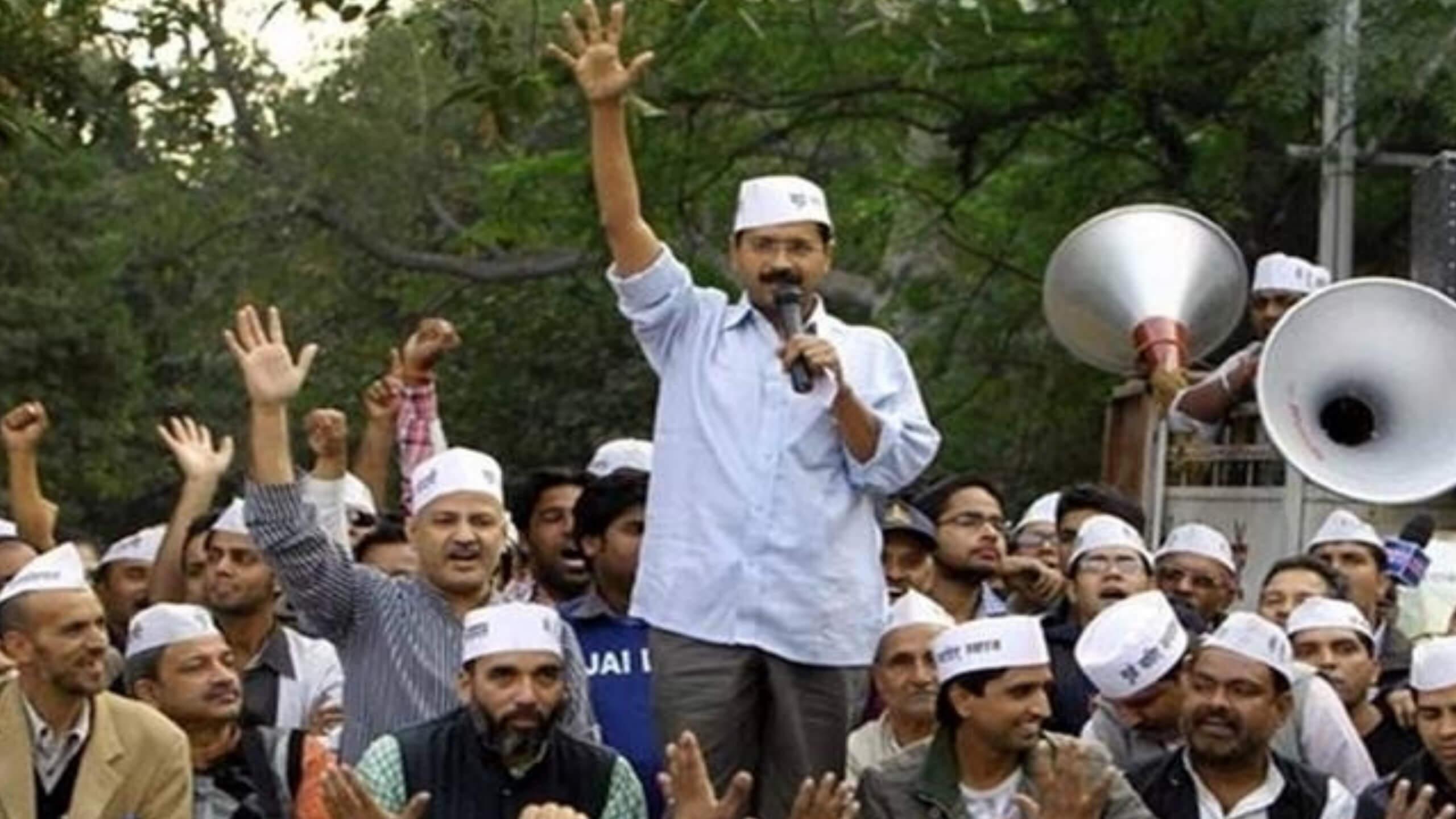 Day 3: Delhi CM Strike Continues