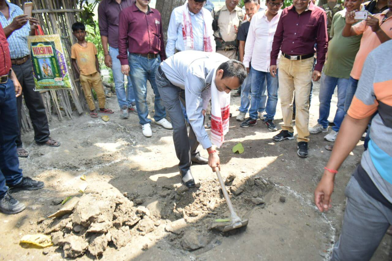 Dhubri declared open defecation-free district