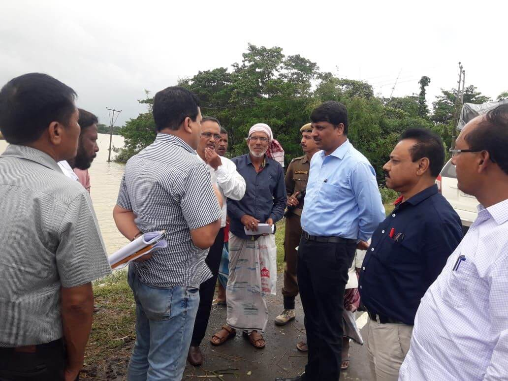 Agriculture Director takes stock of cropland affected