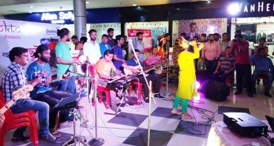 4-day gala event of music band Dolchhut begins
