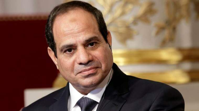 Egypt's Sisi pledges solidarity, cooperation with Iraq