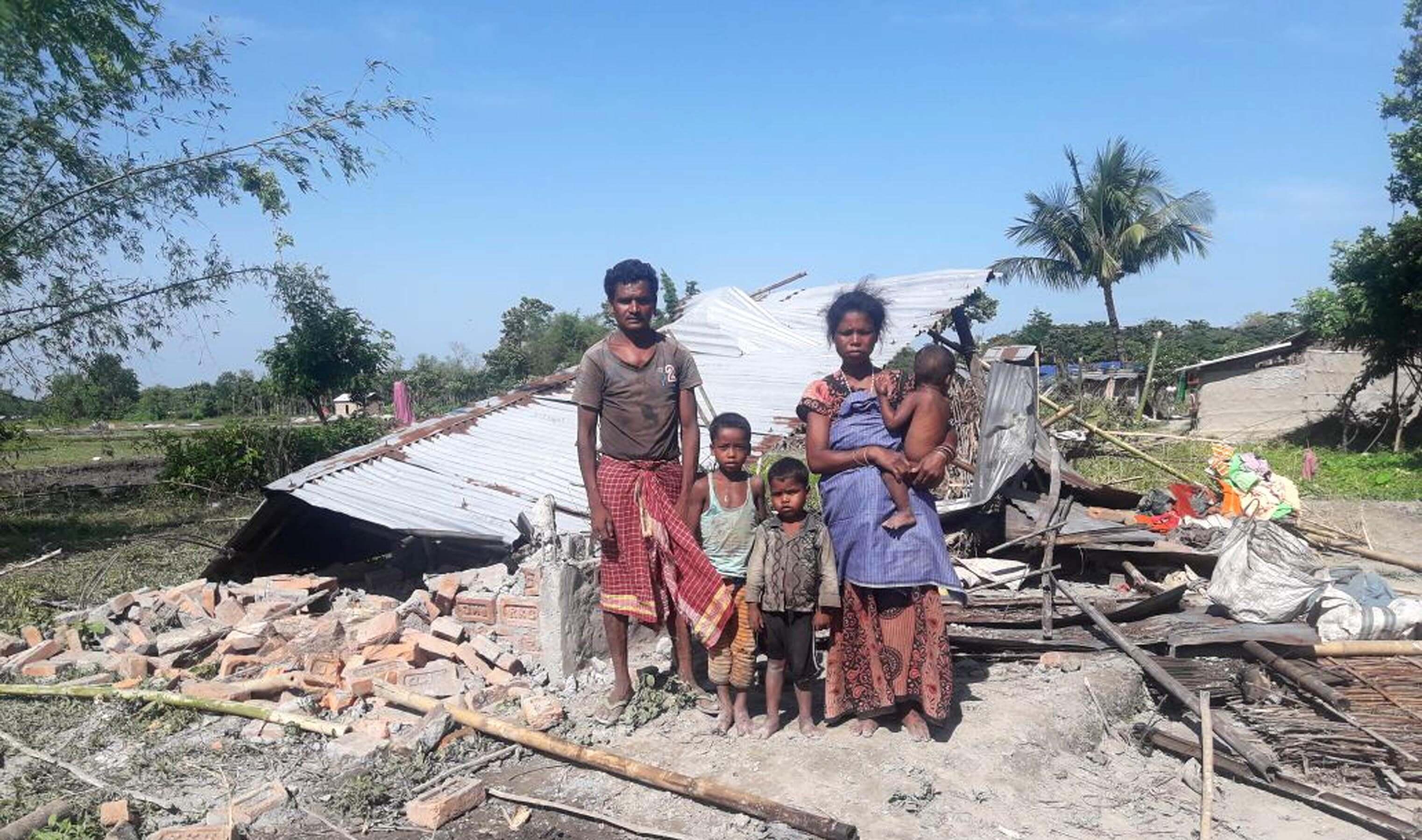 Elephants wreak havoc in Udalguri