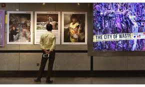 Exhibition capturing the life of waste workers on display at Mandi House
